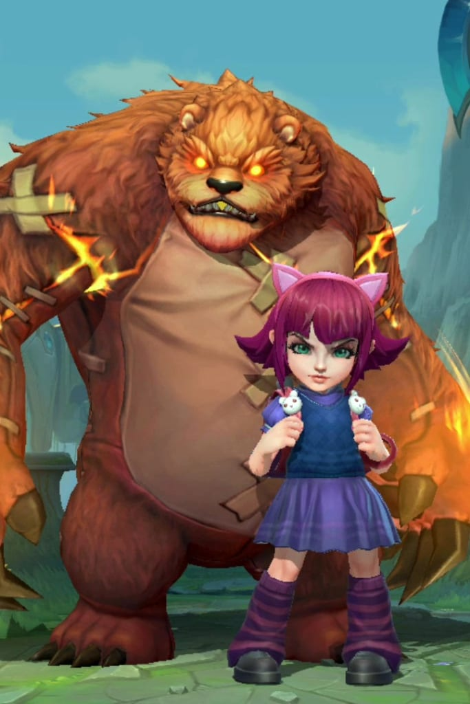 League of Legends: Wild Rift - Annie Default Champion Skin