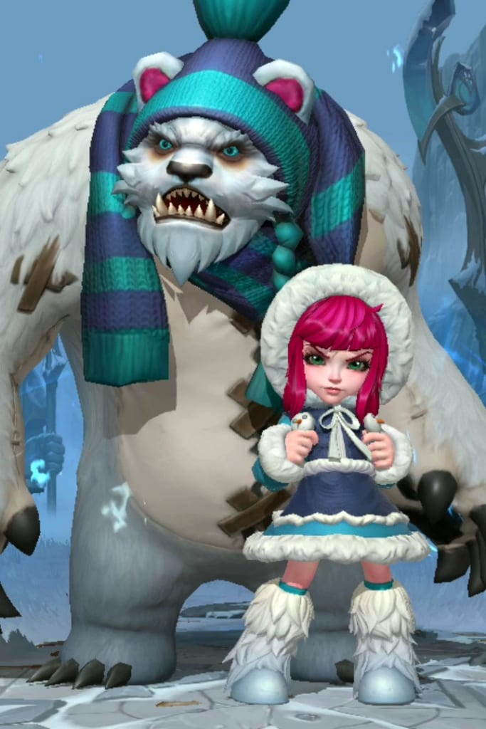League of Legends: Wild Rift - Annie Frostfire Champion Skin