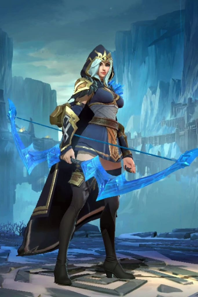 League of Legends: Wild Rift - Ashe Default Champion Skin