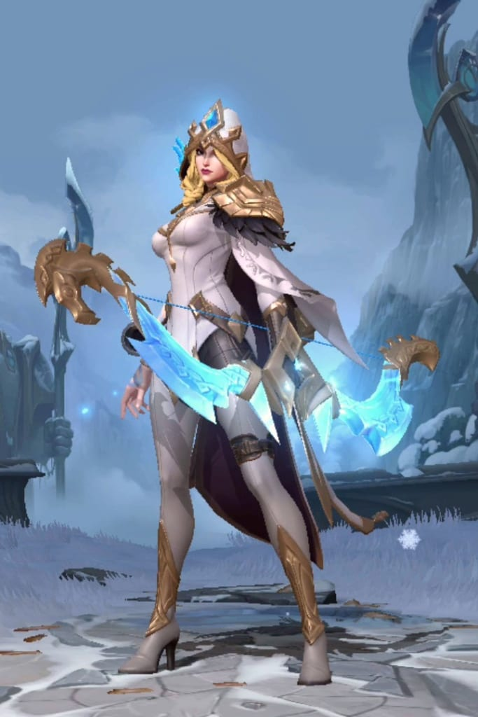 League of Legends: Wild Rift - Ashe Freljord Champion Skin