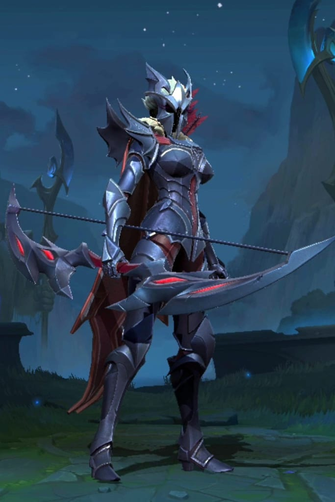 League of Legends: Wild Rift - Ashe Marauder Champion Skin