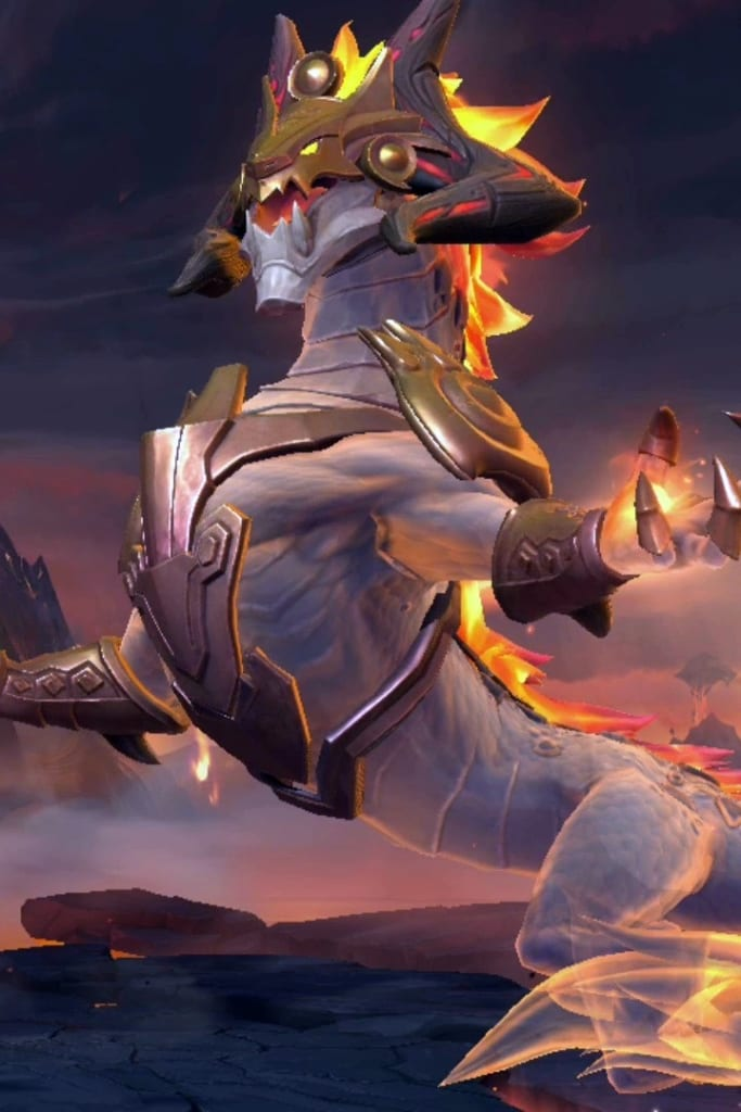 League of Legends: Wild Rift - Aurelion Sol Ashen Lord Champion Skin