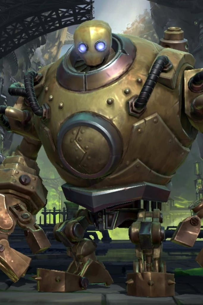 League of Legends: Wild Rift - Blitzcrank Default Champion Skin