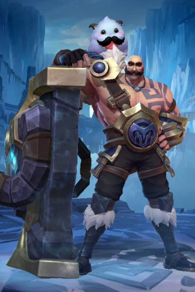 League of Legends: Wild Rift - Braum Default Champion Skin
