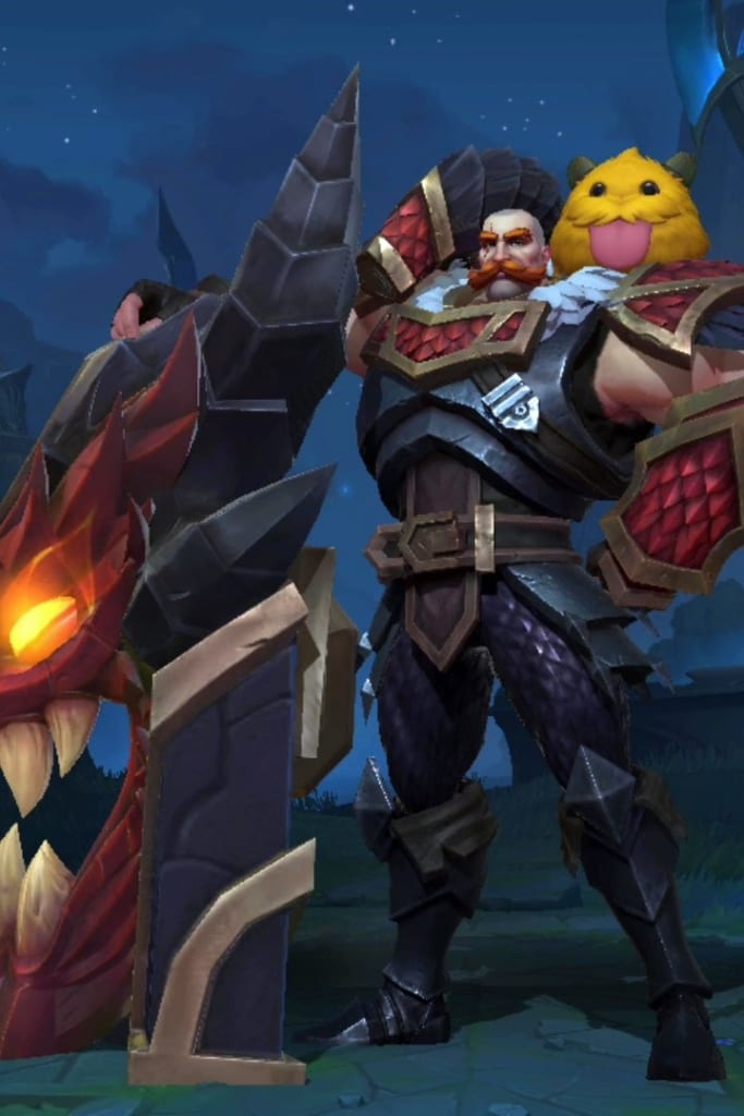 League of Legends: Wild Rift - Braum Dragonslayer Champion Skin