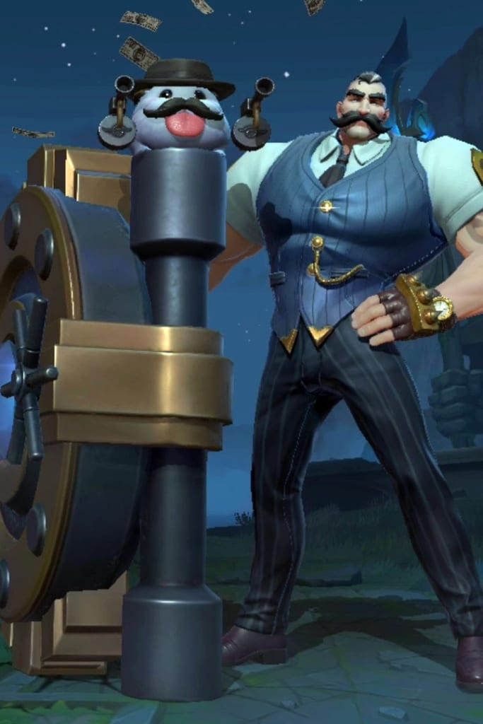 League of Legends: Wild Rift - Braum City Champion Skin
