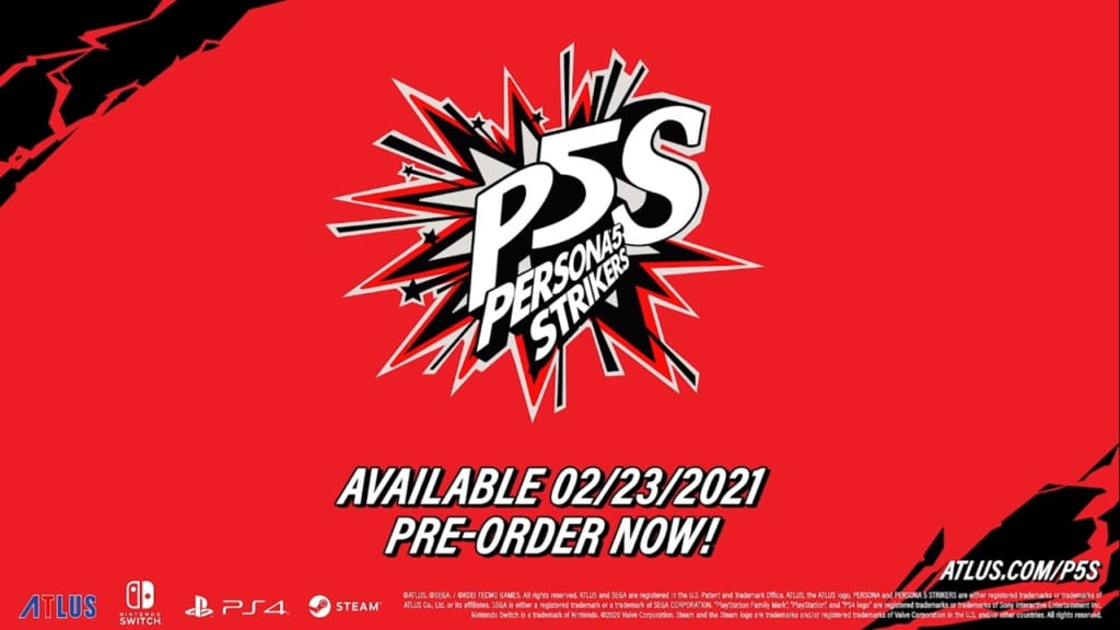 Persona 5 Strikers - Release Date