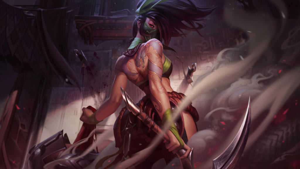 League of Legends: Wild Rift - Akali Champion Stats and Abilities