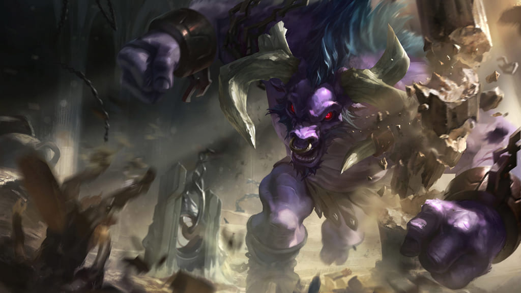 League of Legends: Wild Rift - Alistar Champion Stats and Abilities