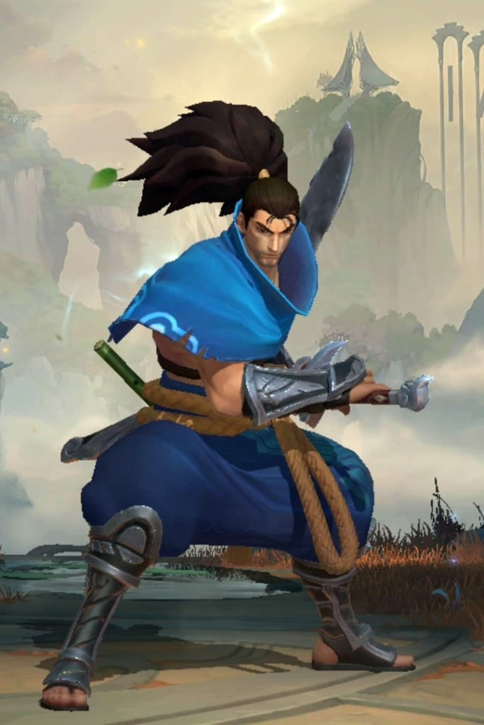 League of Legends: Wild Rift - Yasuo Default Champion Skin