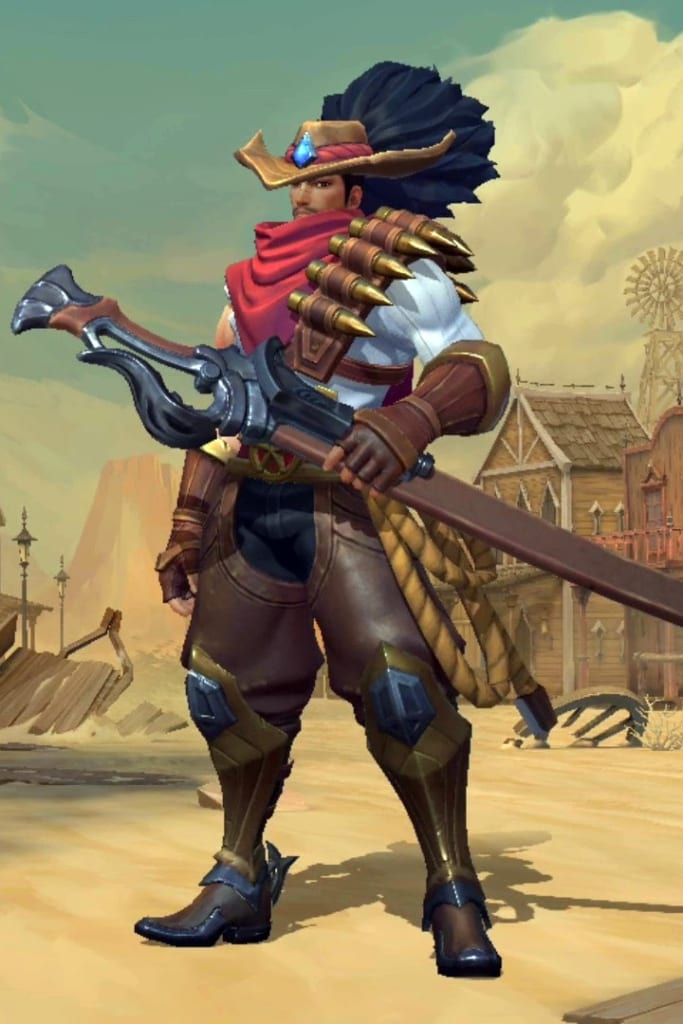 League of Legends: Wild Rift - Yasuo High Noon Champion Skin