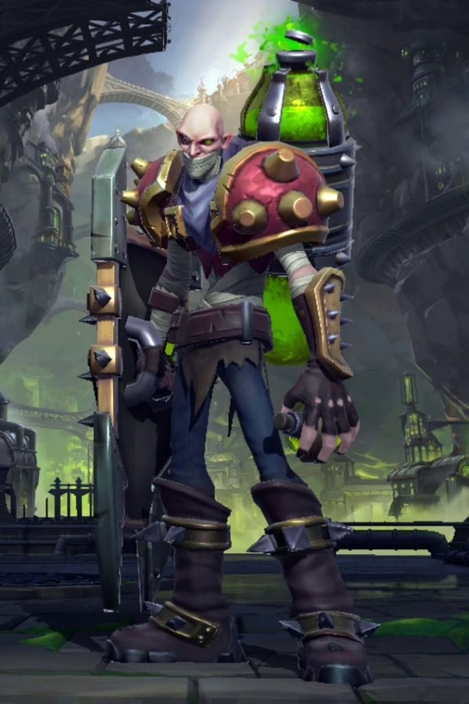 League of Legends: Wild Rift - Singed Default Champion Skin