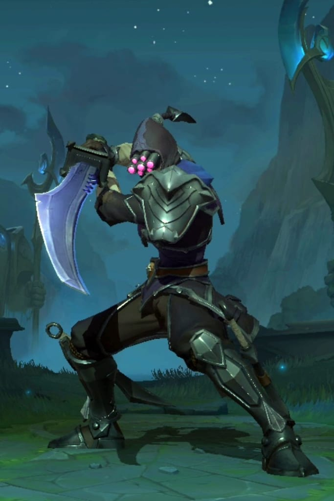 League of Legends: Wild Rift - Master Yi Assassin Champion Skin