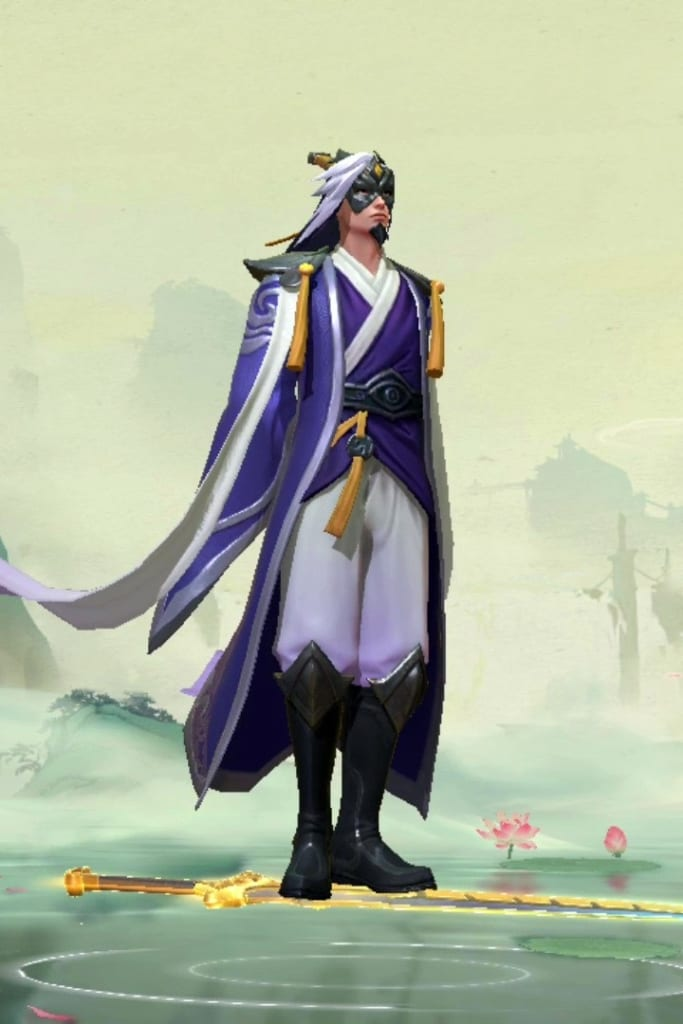 League of Legends: Wild Rift - Master Yi Eternal Sword Champion Skin