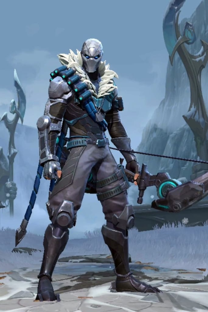 League of Legends: Wild Rift - Varus Arctic Ops Champion Skin