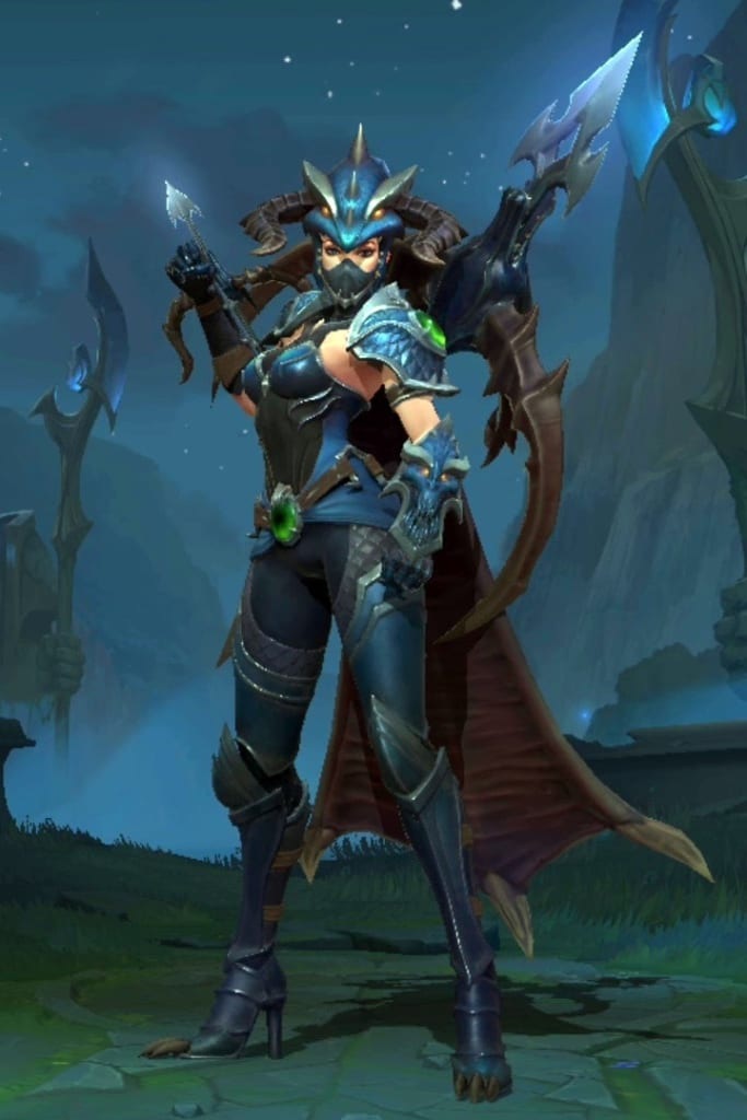 League of Legends: Wild Rift - Vayne Dragonslayer Champion Skin