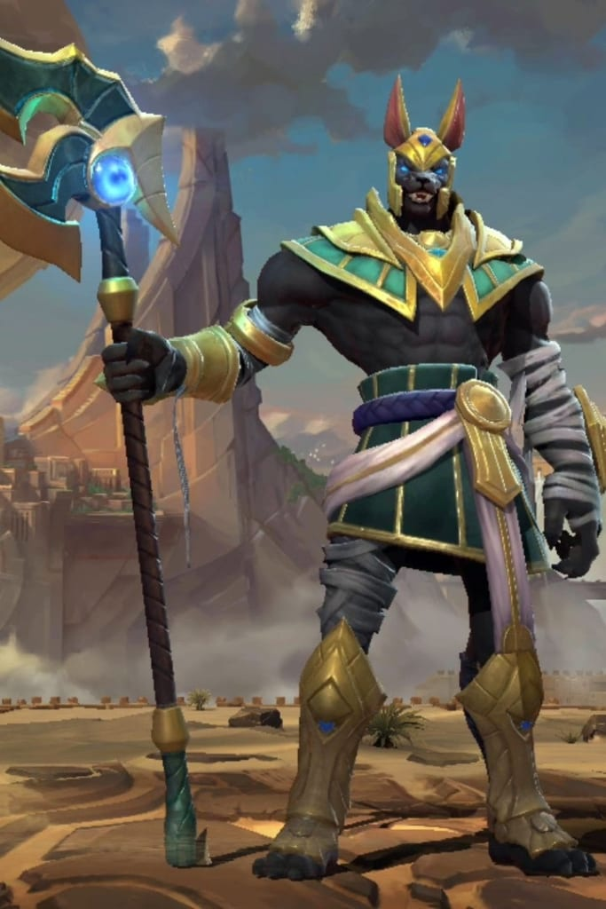 League of Legends: Wild Rift - Nasus Default Champion Skin