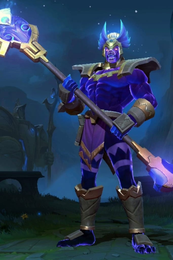 League of Legends: Wild Rift - Nasus Worldbreaker Champion Skin