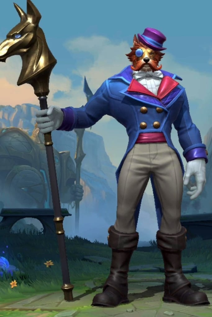League of Legends: Wild Rift - Nasus Archduke Champion Skin