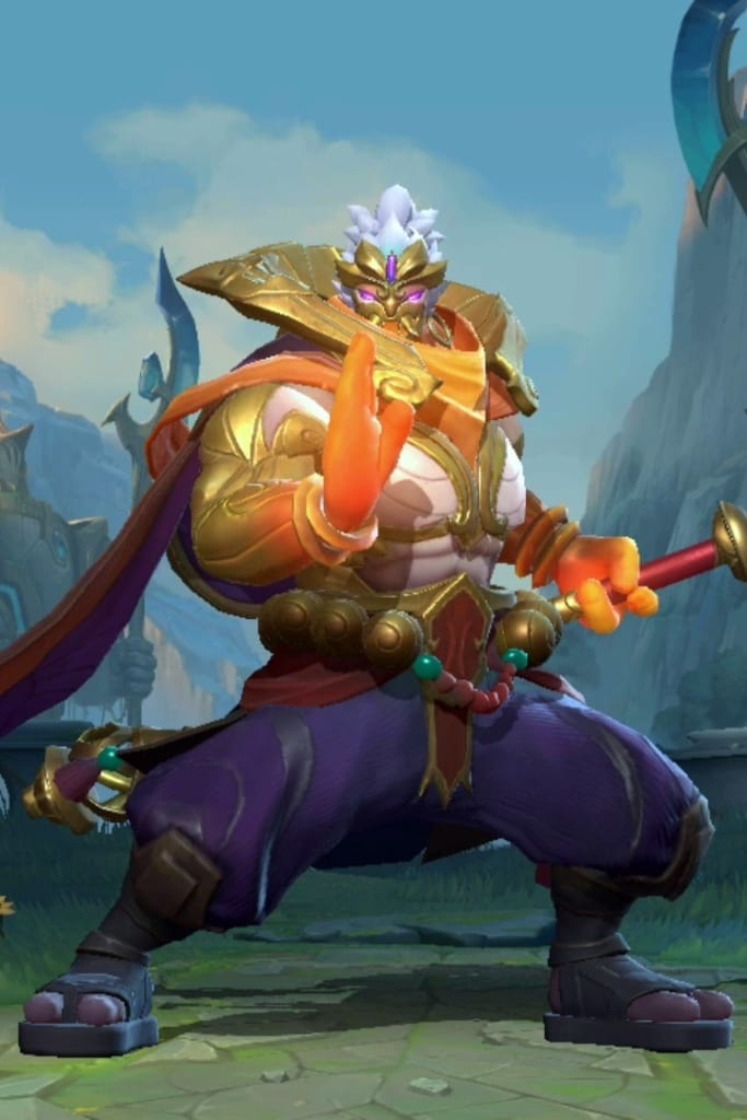 League of Legends: Wild Rift - Jax God Staff Champion Skin