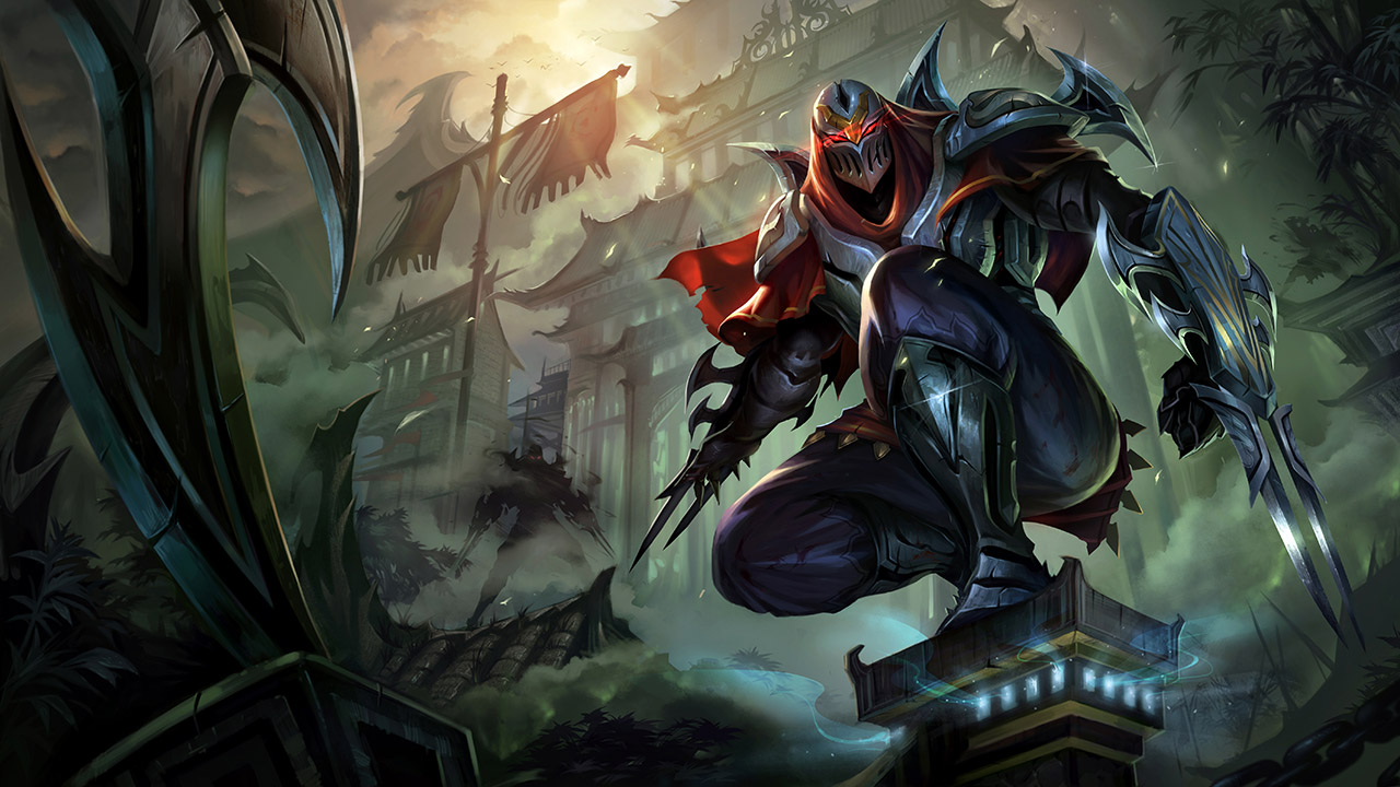League of Legends: Wild Rift - Zed Champion Stats and Abilities