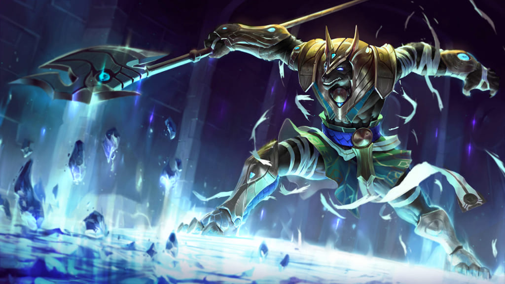 League of Legends: Wild Rift - Nasus Champion Stats and Abilities