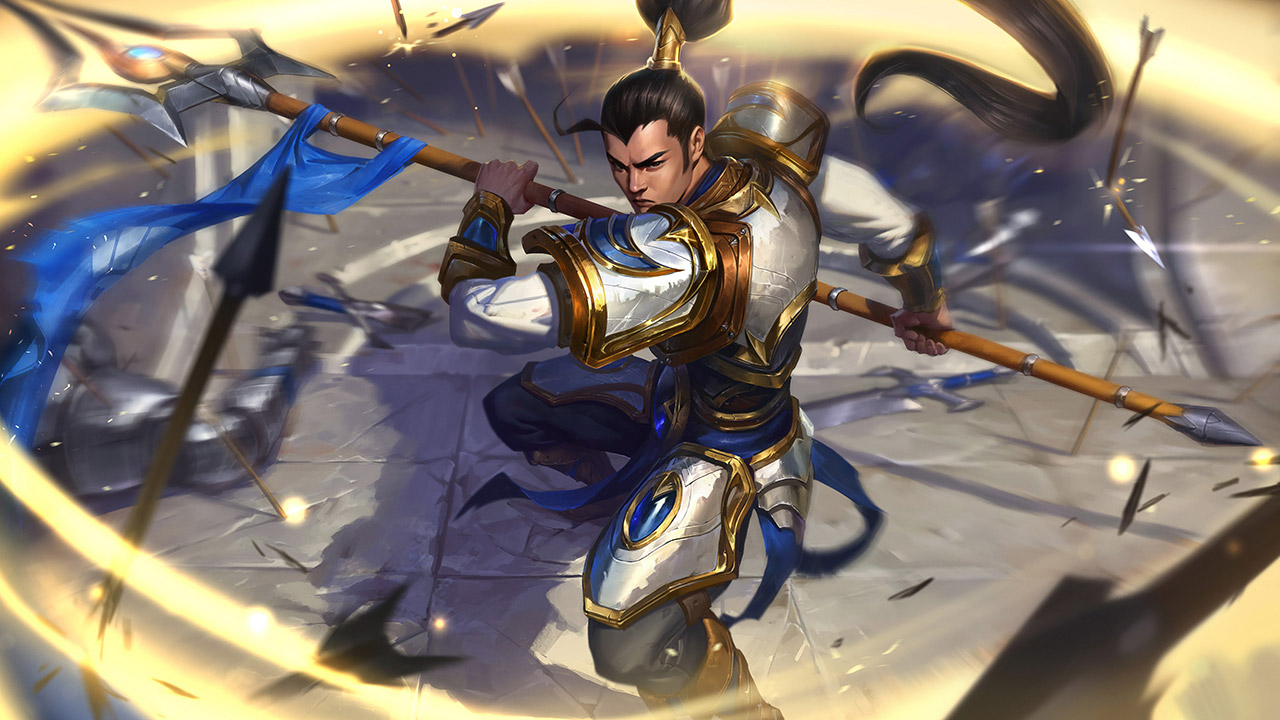 League of Legends: Wild Rift - Xin Zhao Champion Stats and Abilities