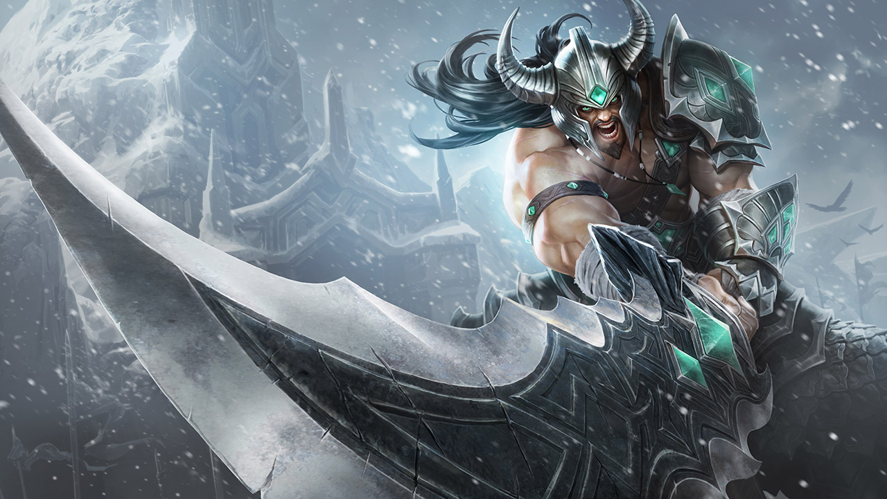 League of Legends: Wild Rift - Tryndamere Champion Stats and Abilities