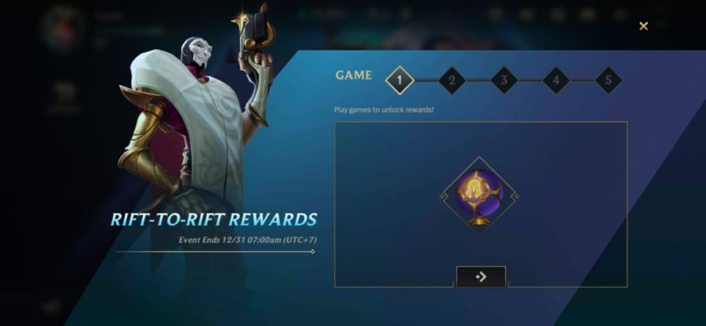 League of Legends: Wild Rift - Rift to Rift Event Rewards
