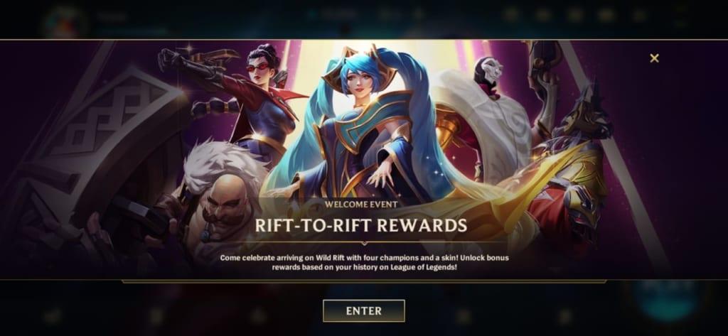 League of Legends: Wild Rift - Rift to Rift Event Details