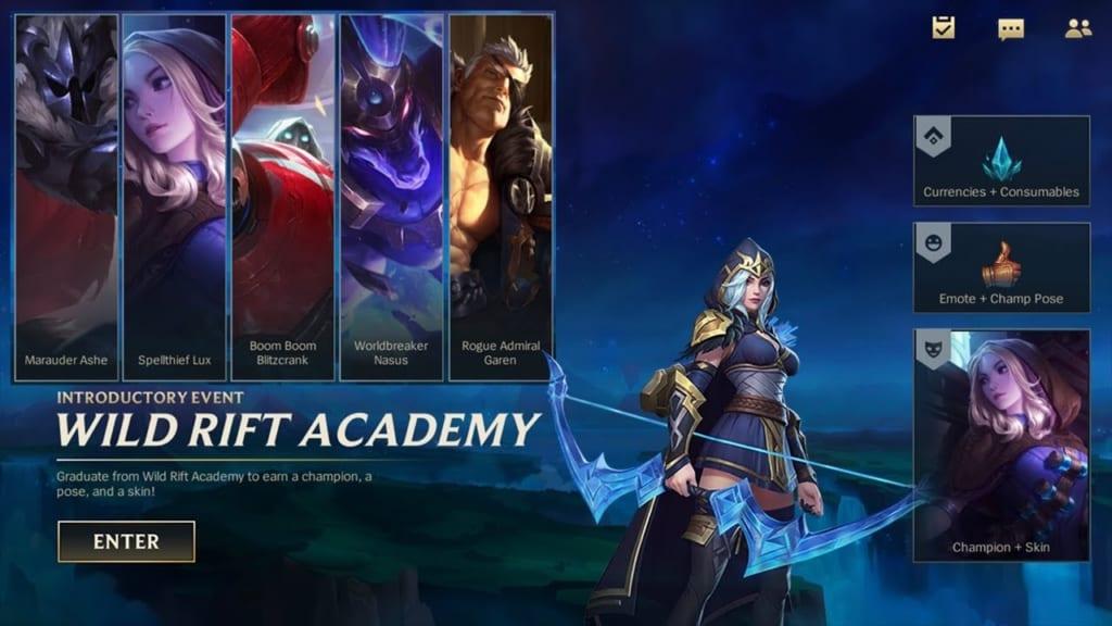 League of Legends: Wild Rift - Wild Rift Academy Event