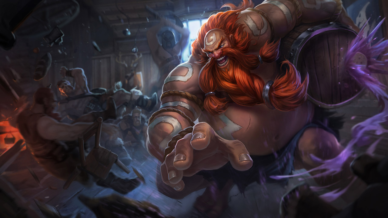 League of Legends: Wild Rift - Gragas Champion Stats and Abilities