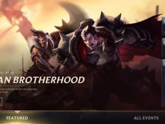 League of Legends: Wild Rift - Noxian Brotherhood Event