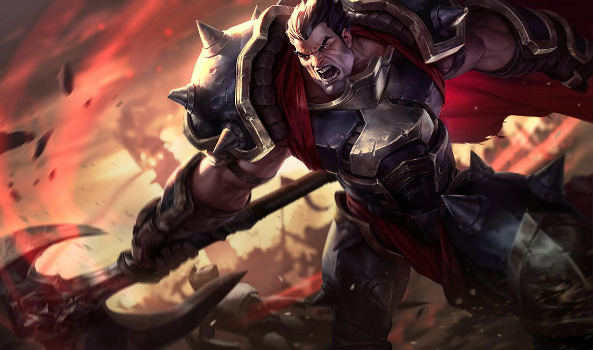 League of Legends: Wild Rift - Darius Champion Stats and Abilities