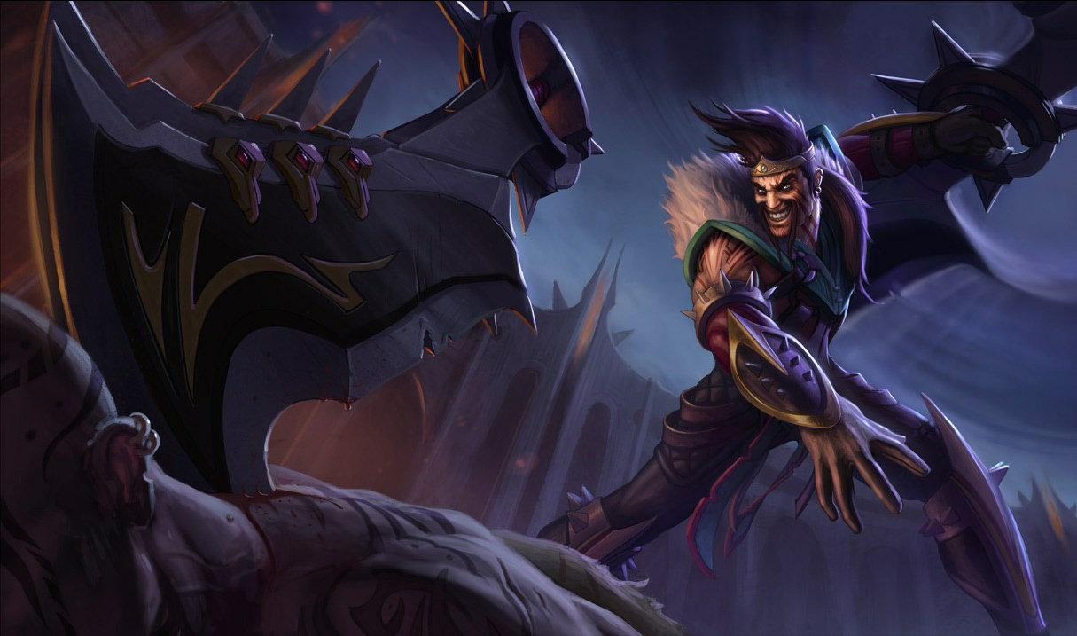 League of Legends: Wild Rift - Draven Champion Stats and Abilities