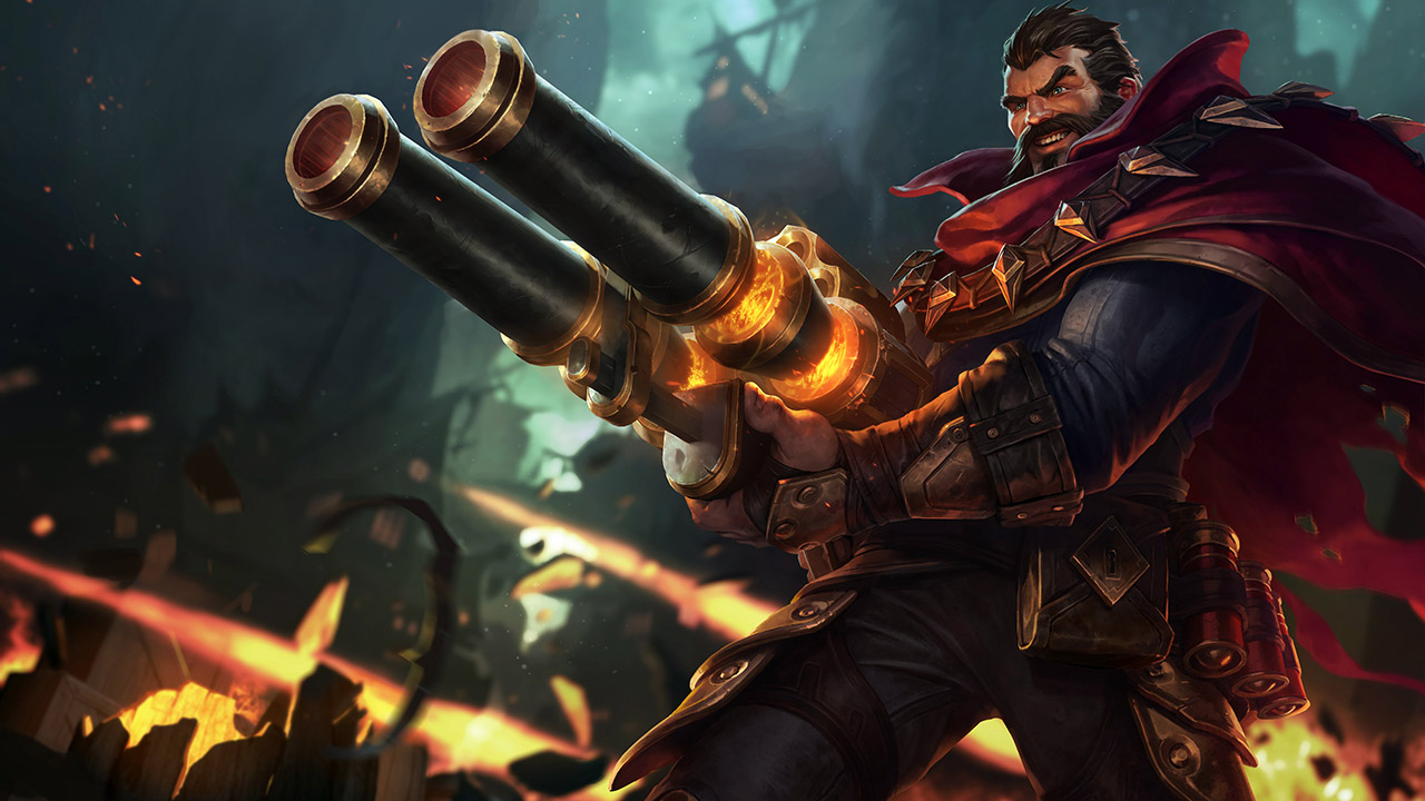 League of Legends: Wild Rift - Graves Champion Stats and Abilities