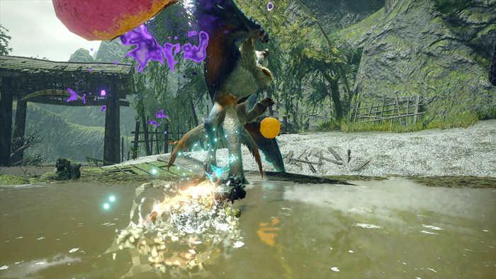 Monster Hunter Rise - Heavy Bowgun Hunter Silkbind Attack Free Silkbind Glide