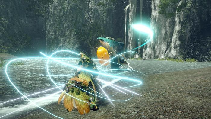 Monster Hunter Rise - Heavy Bowgun Hunter Silkbind Attack Counter Shot