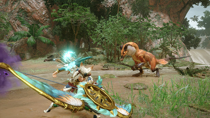Monster Hunter Rise - Bow Hunter Silkbind Attack Herculean Draw