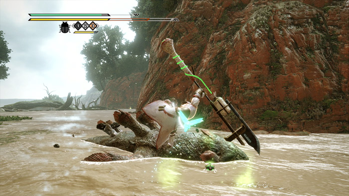 Monster Hunter Rise - Insect Glaive Hunter Silkbind Attack Recall Kinsect