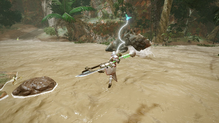 Monster Hunter Rise - Insect Glaive Hunter Silkbind Attack Silkbind Vault