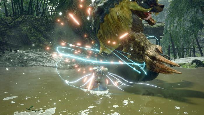 Monster Hunter Rise - Gunlance Hunter Silkbind Attack Guard Edge