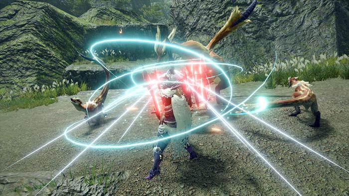 Monster Hunter Rise - Charge Blade Hunter Silkbind Attack Counter Peak Performance