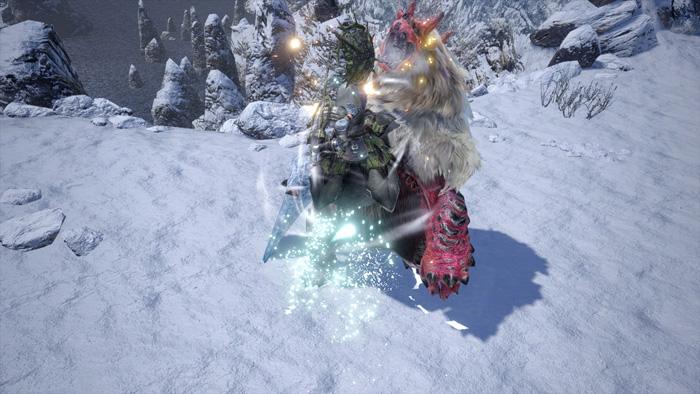 Monster Hunter Rise - Sword and Shield Silkbind Attack Metsu Shoryugeki