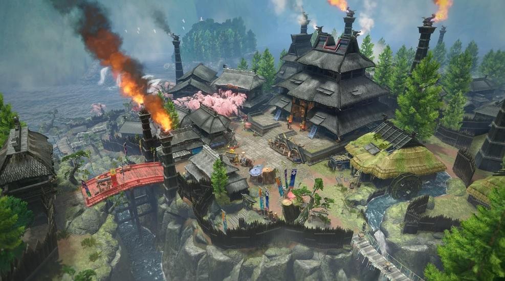 Monster Hunter Rise - Kamura Village
