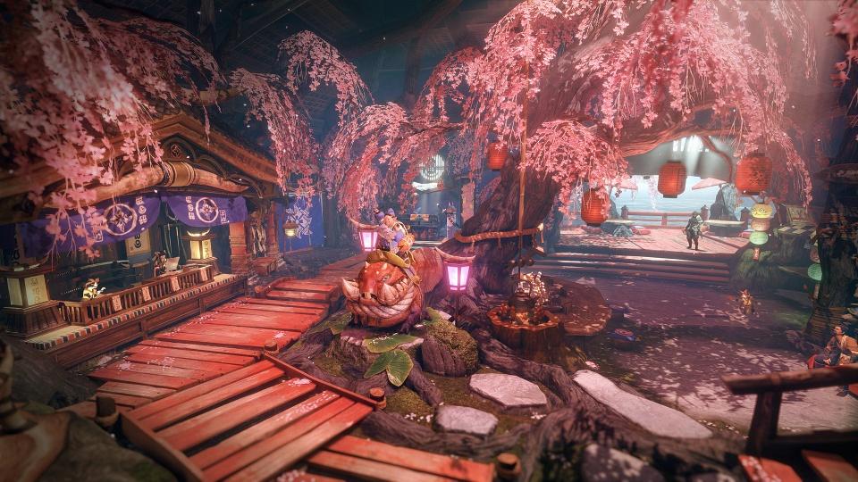 Monster Hunter Rise - Gathering Hub