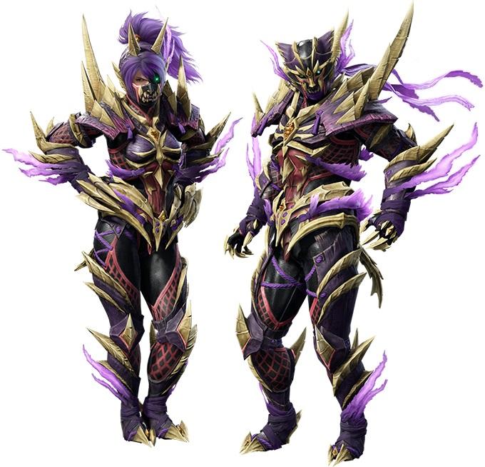 Monster Hunter Rise - Sinister Seal Layered Armor Set