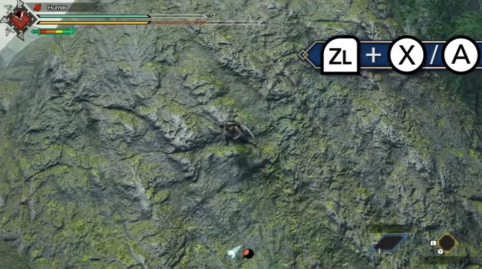 Monster Hunter Rise - Wall Run