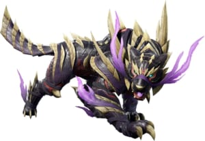 Monster Hunter Rise - Sinister Seal Palamute Layered Armor