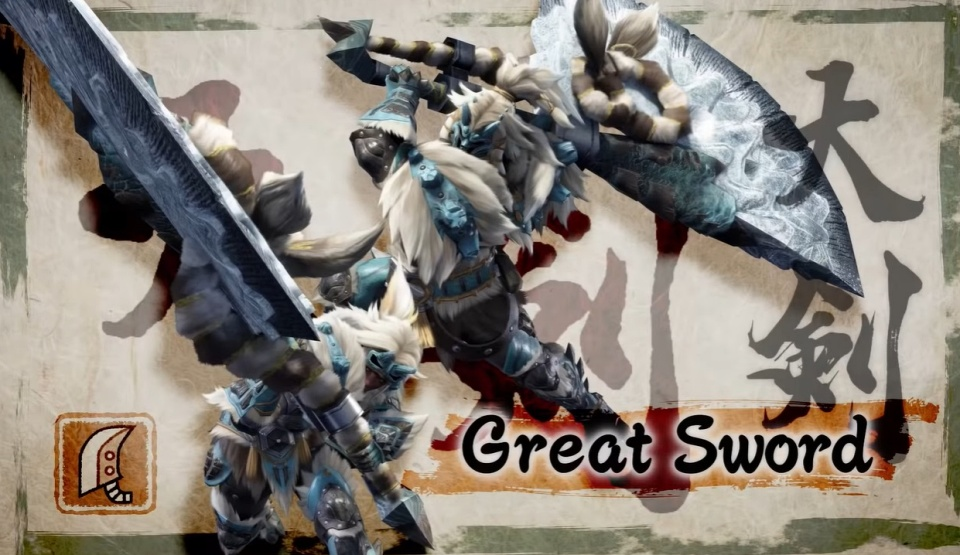 Monster Hunter Rise - Great Sword
